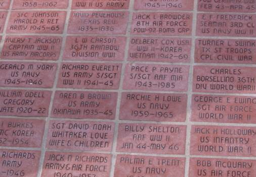 Personalized Memorial Bricks